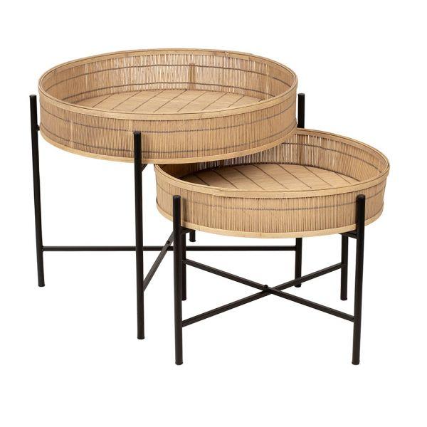 Набор столиков X2 Plaka, SEMA Design, арт.73726