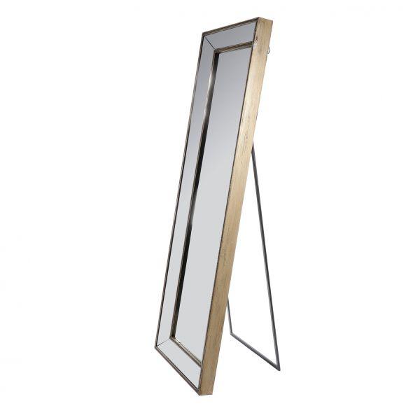 Зеркало напольное состаренное MIRROR PSYCHE ANTIQUE BRONZE 62X180X8 см.. арт.25674