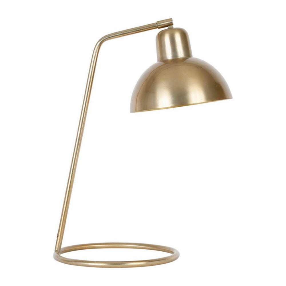 Лампа настольная, LAMP AKENE GOLD 36X25.5XH49CM-E27 IRON+BRASS ,Cote Table ,Арт.: 37160